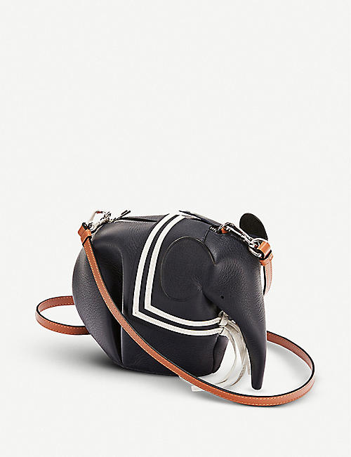 LOEWE Elephant Sailor mini leather cross-body bag