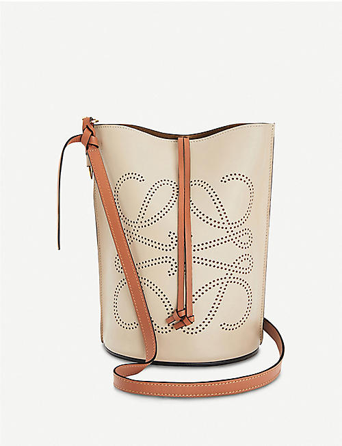 LOEWE: Gate leather bucket bag