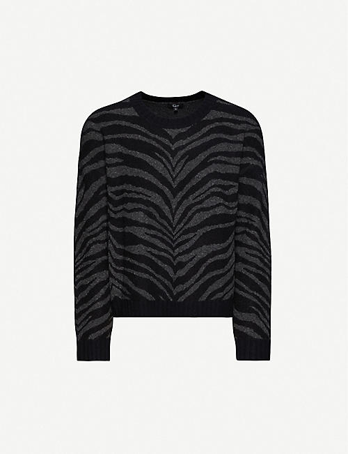 RAILS Chance wool and cashmere-blend jumper