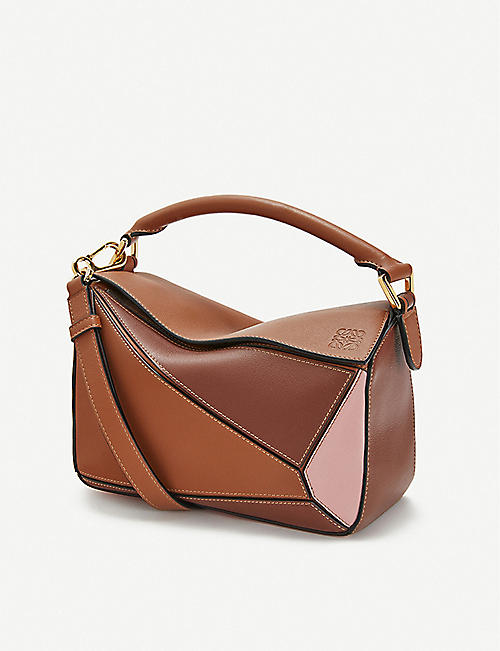 LOEWE Puzzle leather shoulder bag