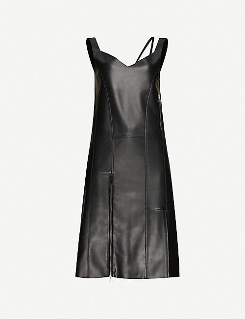 1017 ALYX 9SM Lara leather midi dress