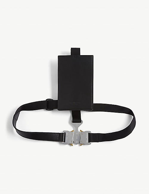 1017 ALYX 9SM: Tri-buckle chest belt
