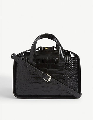 1017 ALYX 9SM: The Brie croc-embossed leather tote bag