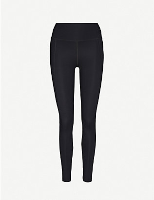GIRLFRIEND COLLECTIVE: Compressive high-rise stretch-jersey leggings