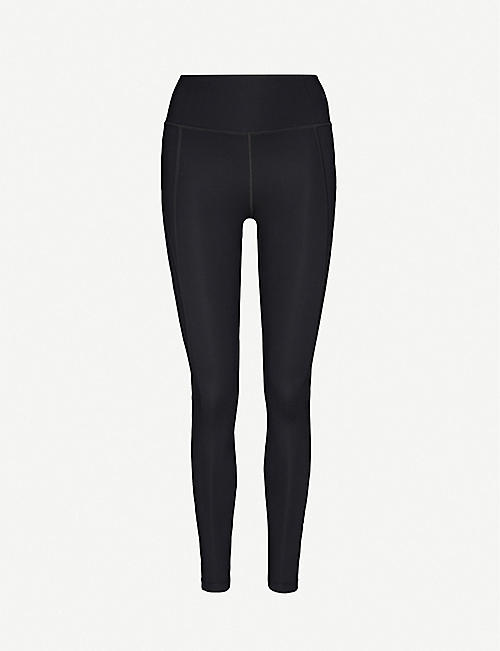 GIRLFRIEND COLLECTIVE Compressive 7/8 high-rise stretch-jersey leggings
