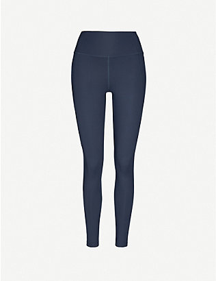 GIRLFRIEND COLLECTIVE: Compressive 7/8 high-rise stretch-jersey leggings