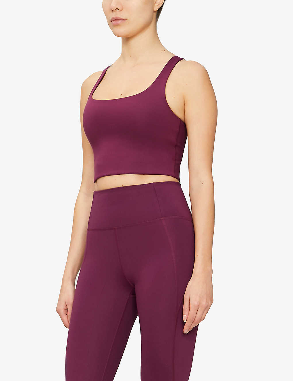 GIRLFRIEND COLLECTIVE: Paloma sports stretch-jersey bra