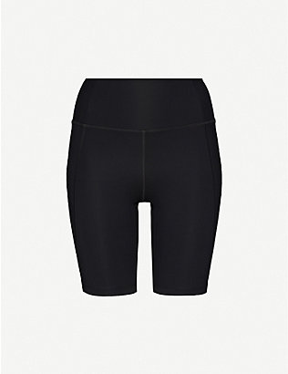 GIRLFRIEND COLLECTIVE: High-rise stretch-jersey cycling shorts