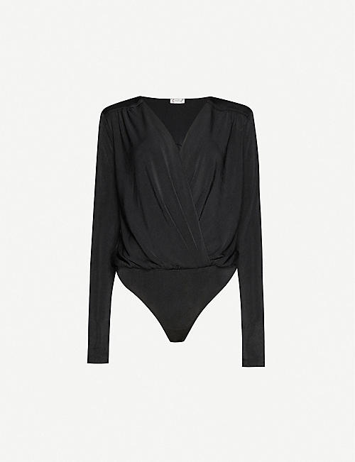 FREE PEOPLE Turnt jersey bodysuit