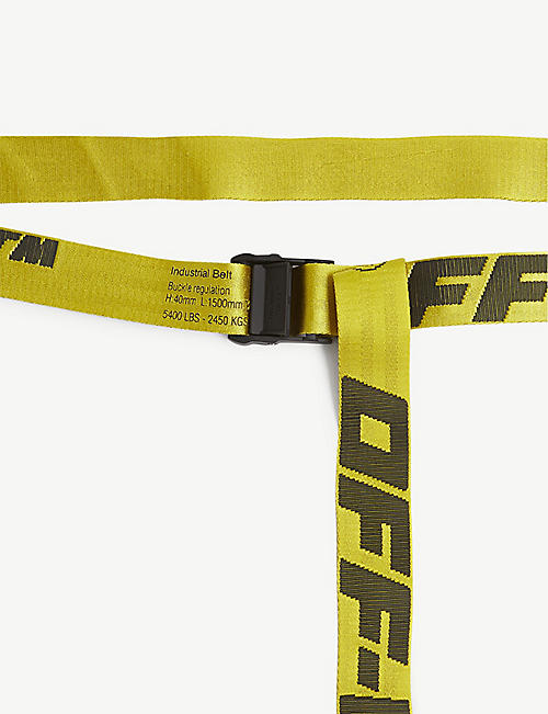 OFF-WHITE C/O VIRGIL ABLOH Industrial tape jacquard belt
