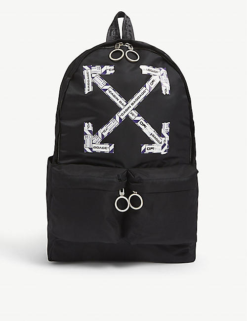 OFF-WHITE C/O VIRGIL ABLOH: X tape backpack
