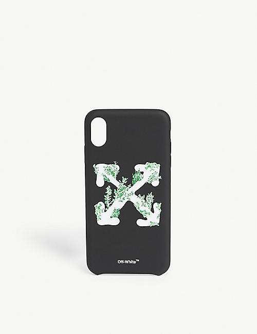 OFF-WHITE C/O VIRGIL ABLOH 珊瑚箭头 iphone Xs 最多盒子