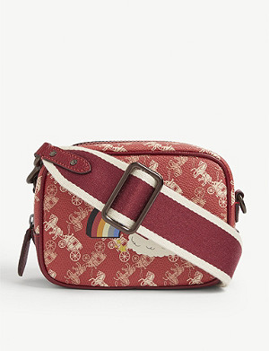 COACH 1941 rainbow monogram canvas cross-body bag
