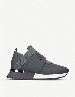 MALLET: BTLR Elast leather and mesh trainers