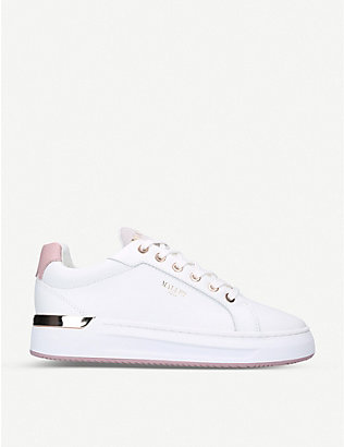 MALLET: GRFTR leather trainers