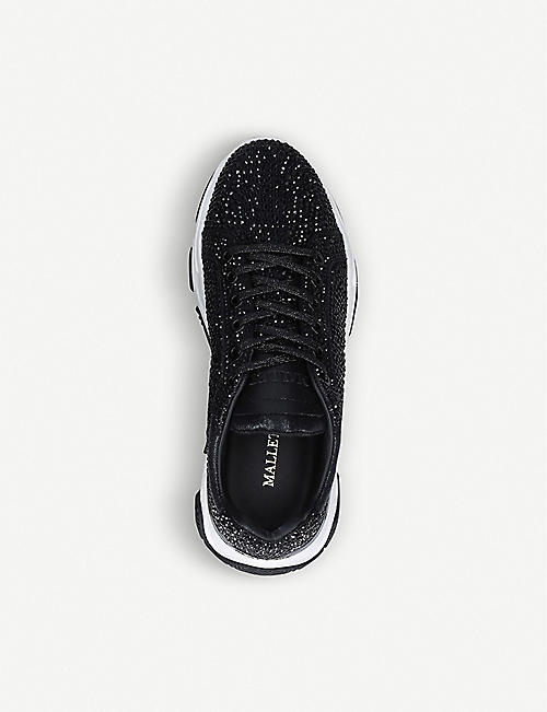 MALLET Kingsland Jewel crystal-embellished trainers