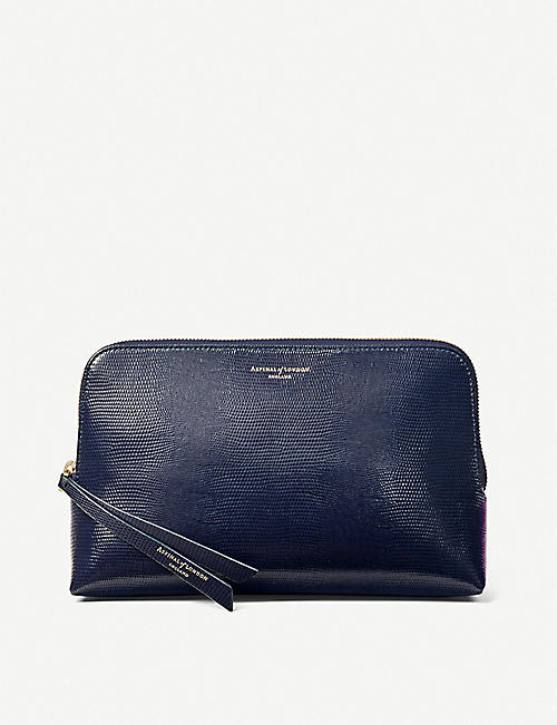 ASPINAL OF LONDON Essential leather cosmetic case