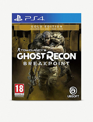 SONY Tom Clancy's Ghost Recon Breakpoint for PS4 Gold Edition