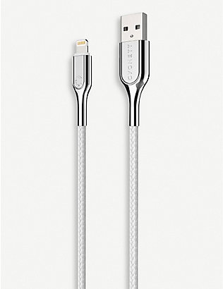CYGNETT: Lightning to USB-A braided charging cable 1m
