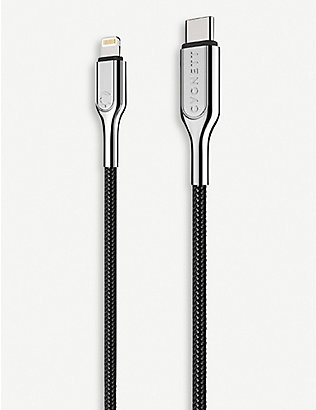 CYGNETT: Lightning to USB-C braided charging cable
