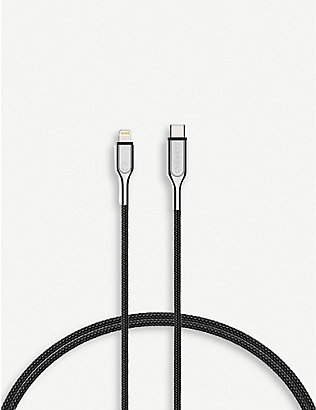 CYGNETT: Lightning to USB-C braided charging cable 2m