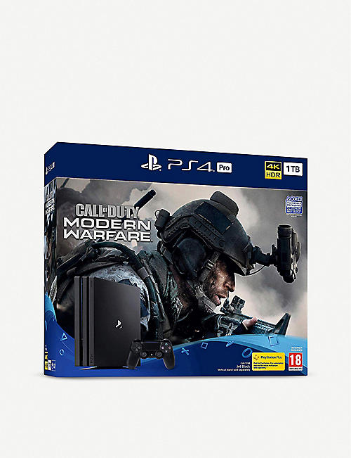SONY Call of Duty Modern Warfare PS4 Pro Bundle