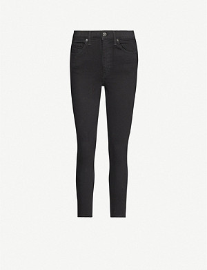 TOPSHOP Jamie skinny high-rise stretch-denim jeans