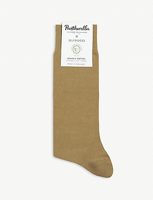 SELFRIDGES X PANTHERELLA Selfridges cotton-blend socks