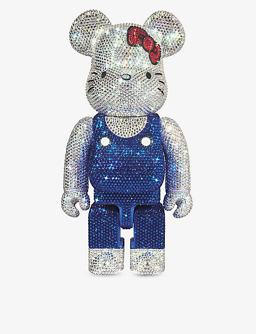 BE@RBRICK: Hello Kitty crystal 400% figure