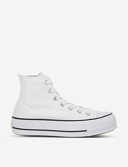 CONVERSE: All Star Lift high-top flatform trainers