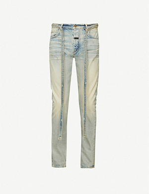 FEAR OF GOD Slim faded jeans
