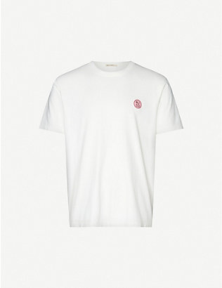 NUDIE JEANS: Uno logo-print cotton-jersey T-shirt