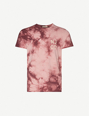 NUDIE JEANS Roy tie-dye organic cotton T-shirt