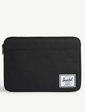 "HERSCHEL SUPPLY CO Anchor 13"" canvas laptop pouch"