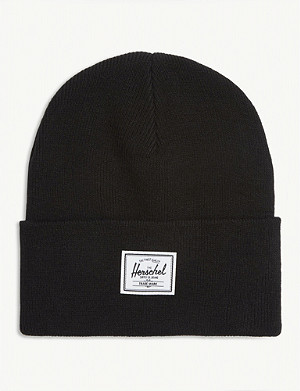 HERSCHEL SUPPLY CO Elmer logo patch beanie