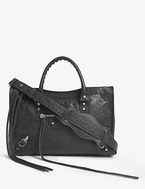 BALENCIAGA Classic City small leather tote