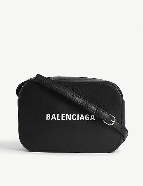 BALENCIAGA Everyday leather cross-body bag