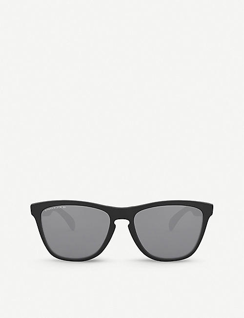 OAKLEY: OO9013 55 Frogskins™ square-frame O-Matter sunglasses