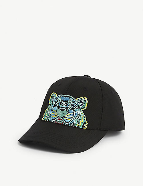 KENZO: Embroidered tiger cap