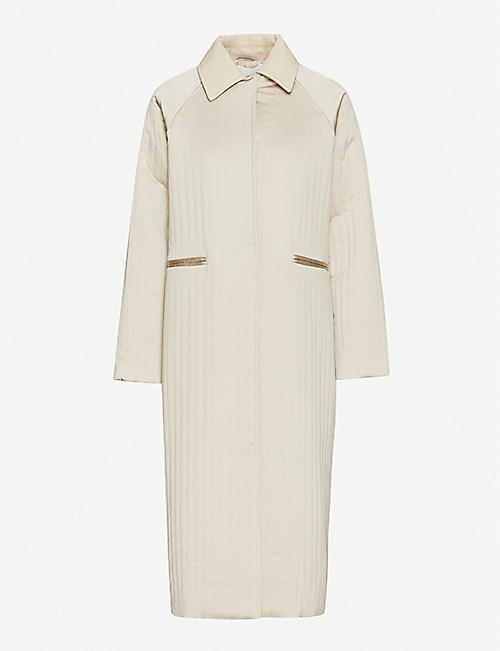 REMAIN BIRGER CHRISTENSEN Kyoto quilted woven coat
