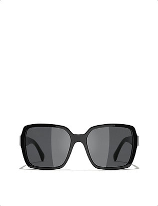CHANEL: CH5408 acetate square-frame sunglasses