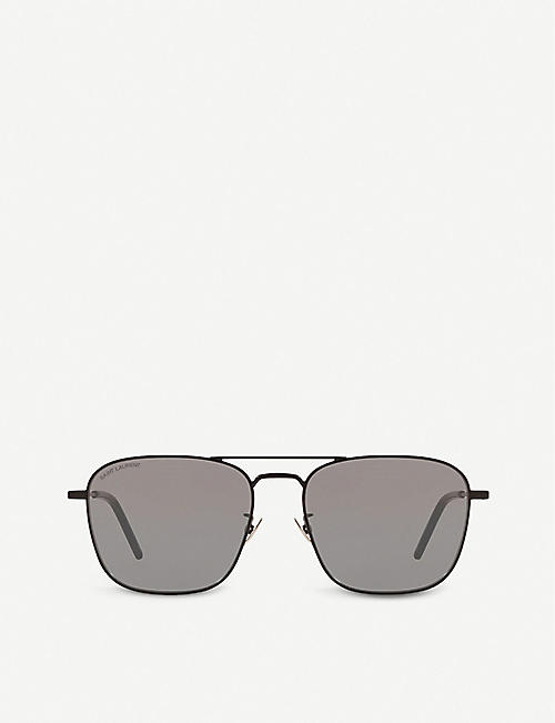 SAINT LAURENT: SL 309 pilot-frame sunglasses
