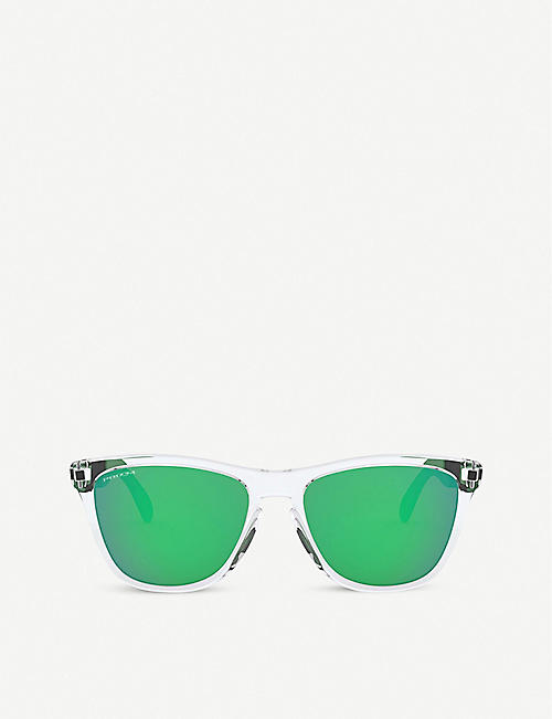 OAKLEY: OO9428 Frogskins Mix square-frame sunglasses