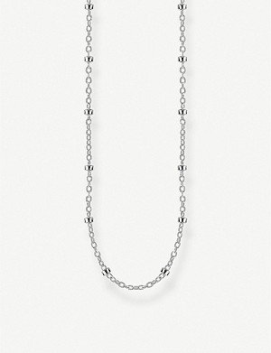 THOMAS SABO Round Belcher sterling silver chain necklace