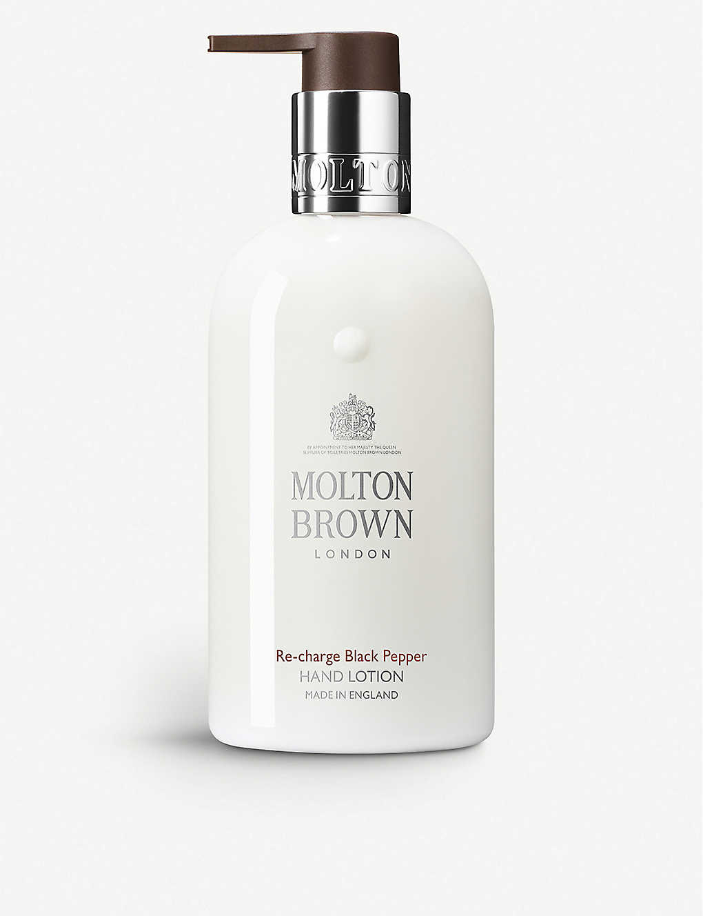 MOLTON BROWN: Re-charge Black Pepper hand lotion 300ml