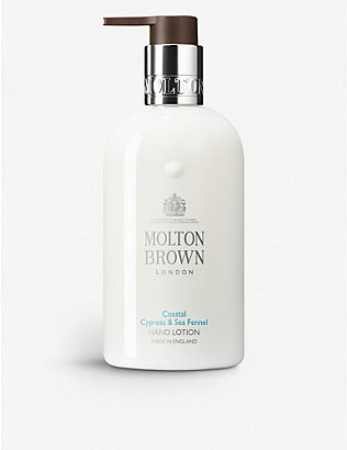 MOLTON BROWN: Cyprus & Sea Fennel liquid hand lotion 300ml