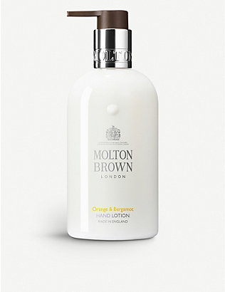 MOLTON BROWN: Orange & Bergamont liquid hand lotion 300ml