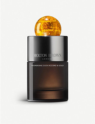 MOLTON BROWN: Oudh Accord & Gold eau de parfum 100ml