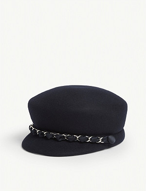 EUGENIA KIM Sabrina wool baker boy hat