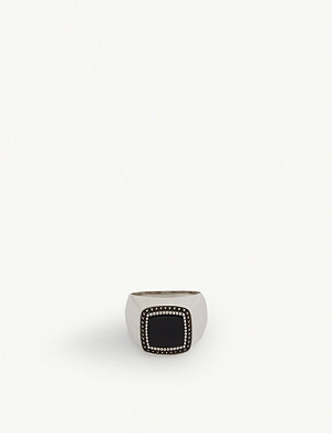 EMANUELE BICOCCHI Tiger eye signet ring